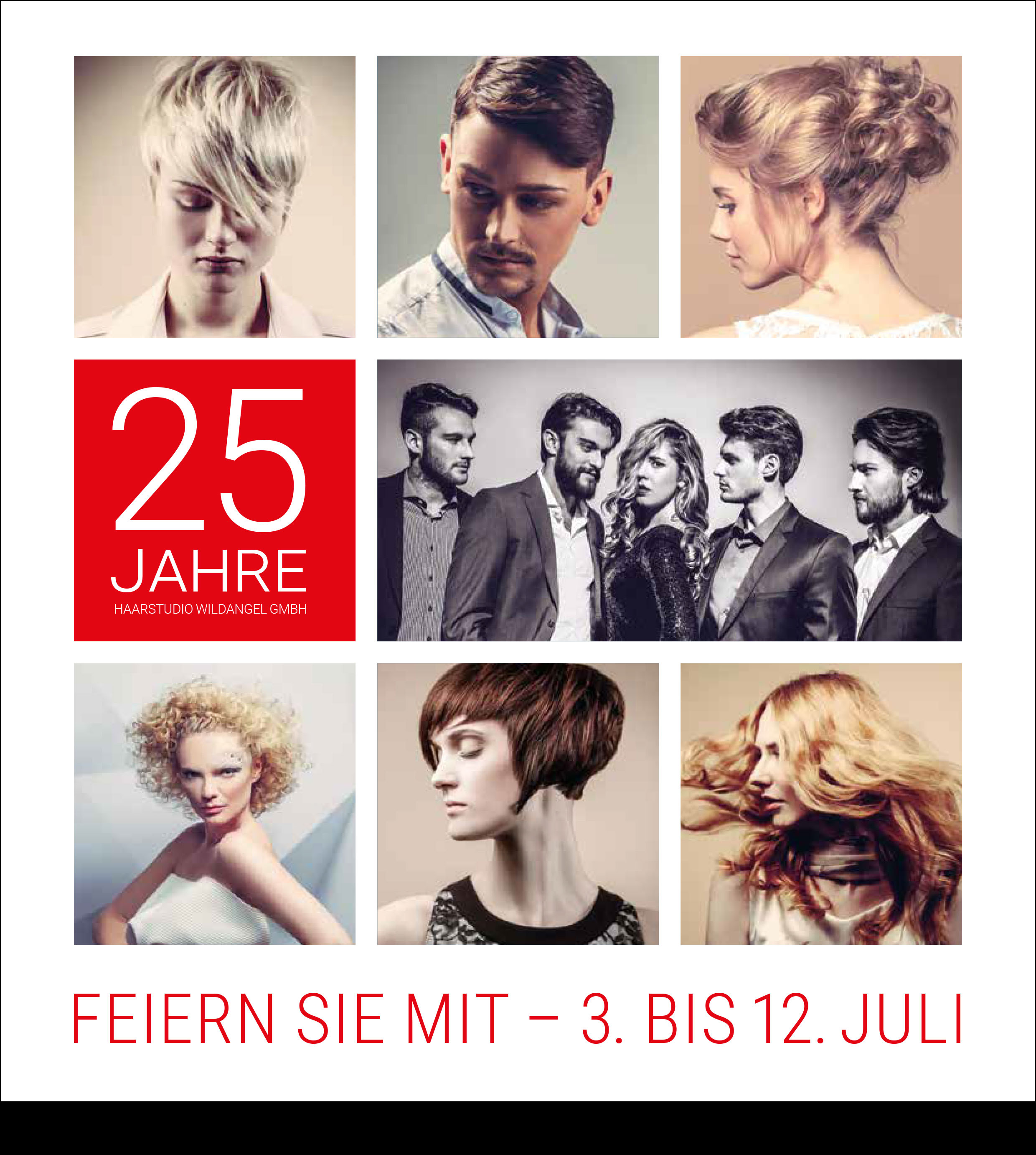 25 Jahre Haarstudio Wildangel GmbH