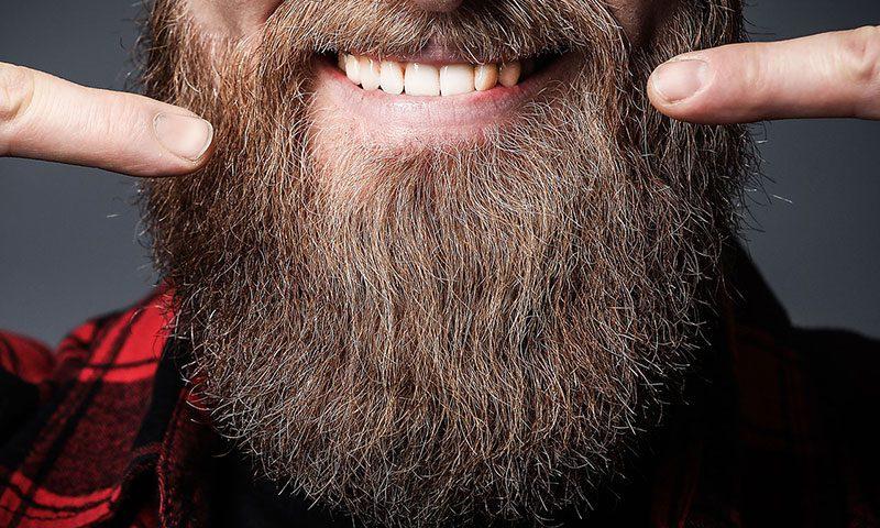 Bartpflege bei Wildangel